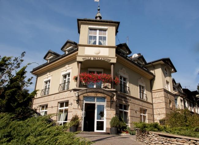 ceny odprawy wielka wyprzedaż kody promocyjne Villa Palladium, Gdańsk